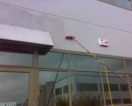 Cladding cleaning in Cork