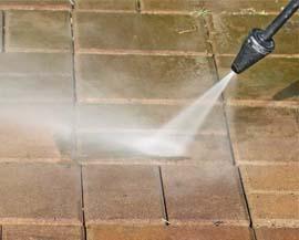 Pressure washing driveway Cork
